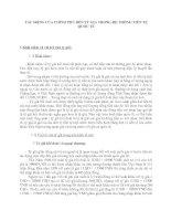 TÁC ĐỘNG CỦA CHÍNH PHỦ ĐẾN TỶ GIÁ TRONG HỆ THỐNG TIỀN TỆ QUỐC TẾ