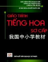 Giáo trình tiếng Hoa sơ cấp bản xanh