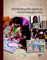 Sách hướng dẫn tập huấn các  kỹ năng giao tiếp