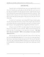 """""""Hệ thống QLCL theo tiêu chuẩn ISO - 9000 và việc áp dụng nó vào trong các doanh nghiệp Việt Nam"""