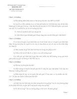ĐỀ THI TUYỂN SINH VÀO LỚP 10 THPT NĂM HỌC 2012-2013 MÔN SINH HỌC CHUYÊN - SỞ GIÁO DỤC VÀ ĐÀO TẠO TỈNH PHÚ YÊN