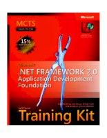 70-536 microsoft .net framework 2.0 application development foundation