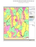 Bản đồ hành chính huyện Krông Pắk tỉnh Đăk Lak