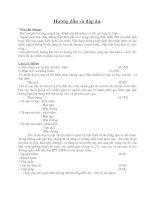 Đáp án HSG GDCD 8 (08-09)