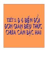 TIET 9 DS 9 BIEN DOI DON GIAN BIEU THUC CHUA CAN BAC HAI