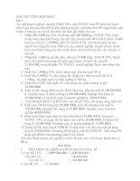 Bài tập tổng hợp nguyên lý kế toán