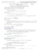 Đề ôn thi ĐH-CĐ 05 ( Có lời giải)