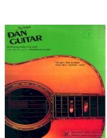 Tự học đàn guitar part 1