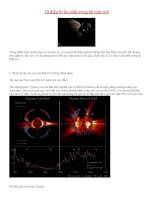 10 điều bí ẩn nhất trong hệ mặt trời