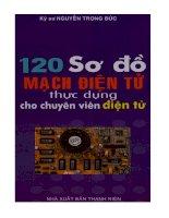 120 sơ đồ mạch điện tử thực dụng cho chuyên viên điện tử part 1