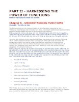 Công thức và hàm Excel 2007 Anh - Việt của Paul Mcfedries (phần II)