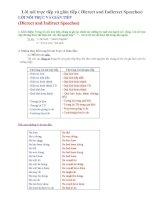Ôn TN12-Lời nói trực tiếp và gián tiếp
