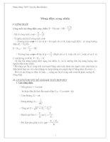 Chuyên đề  dòng điện xoay chiều