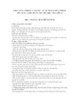 GIÁO ÁN ÔN LUYỆN THI TUYỂN SINH LỚP 10 MÔN NGỮ VĂN