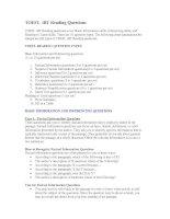 Bí quyết phân tích và trả lời cho phần thi reading của toefl IBT