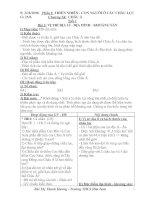 Giáo án địa lí 8 trọn bộ năm học 2008 - 2009