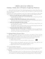 Đề tài: Khảo sát về Windows