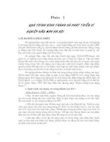 MỘT SỐ HIỂU BIẾT VỀ TIỀN LƯƠNG TIỀN THƯỞNG Ở XÍ NGHIỆP ĐẦU MÁY HÀ NỘI