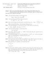 Kỳ thi chọn HSG giải toán-lý-hoá-sinh trên MTCT             LONG AN Môn thi: Toán  Khối: 12 – GDTX