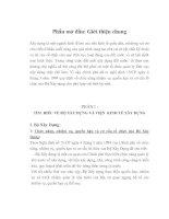 TÌM  HIỂU VỀ PHÒNG KINH TẾ ĐÔ THỊ