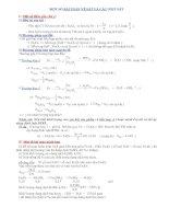 Một số bài toán hay về sắt và các oxit sắt