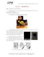 Chương 7:      MÀN HÌNH LCD