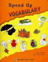 Speed up vocabulary (tăng tốc độ từ vựng)