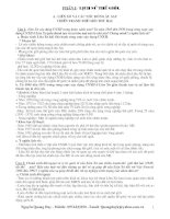 Đề Cương Lịch Sữ 10-11-12