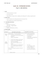 LESSON PLAN -UNIT 10