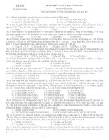 Đề 004 (Đề thi có 05 trang) ĐỀ THI THỬ VÀO ĐẠI HỌC, CAO ĐẲNG Môn thi: HÓA HỌC