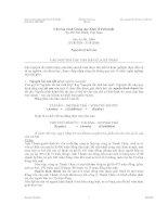 Nguyên lý kế toán bài đọc các nguyên tắc căn bản của kế toán