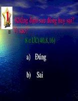 UOC CHUNG VA BOI CHUNG