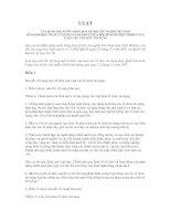 LUẬT Ề SỬA ĐỔI, BỔ SUNG MỘT SỐ ĐIỀU CỦA LUẬT CÁC TỔ CHỨC TÍN DỤNG SỐ 20/2004/QH11 NGÀY 15 THÁNG 6 NĂM 2004