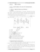 Thiết kế và thi công mô hình mạch kích dùng thyristor trong thiết bị chỉnh lưu có điều khiển