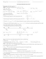 Các dạng bài tập vật lý lớp 12