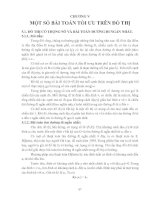 GIÁO TRÌNH TOÁN RỜI RẠC - CHƯƠNG V MỘT SỐ BÀI TOÁN TỐI ƯU TRÊN ĐỒ THỊ