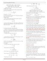 Tuyển tập trắc nghiệm vật lý 11