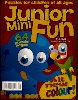 Junior mini fun   các câu đố dành cho trẻ em mọi lứa  tuổi
