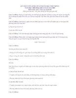 Đề thi và đáp án môn văn vào 10 HN và TPHCM 2009-2010