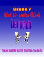 Tieng Anh 7 - Unit 10 - B3-6