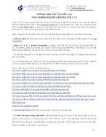 Hướng dẫn thủ tục cấp C/O cho doanh nghiệp lần đầu xin C/O mới nhất 2013
