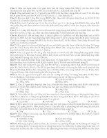Bài tập định luật bảo toàn e (hay)