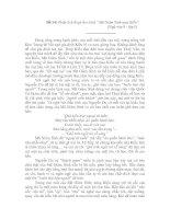 Phân tích đoạn thơ