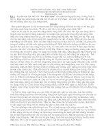 Những bài văn hay Tiểu học Lạng Giang
