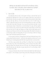 MỐI QUAN HỆ BIỆN CHỨNG GIỮA CƠ SỞ HẠ TẦNG VÀ KIẾN TRÚC THƯỢNG TẦNG TRONG SỰ NGHIỆP ĐỔI MỚI Ở NƯỚC TA HIỆN NAY