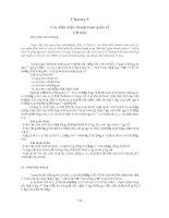 Chương 5 Các điều kiện thanh toán quốc tế