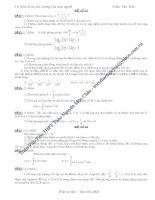 Tuyển tập đề thi toán luyện thi ĐH năm 2009