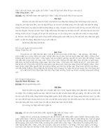 NHỮNG BÀI VĂN HAY LỚP 3-09