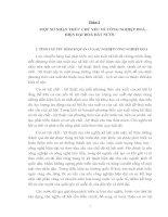 NHỮNG ĐỊNH HƯỚNG CHỦ YẾU ĐỔI MỚI CƠ CẤU CHI NGÂN SÁCH NHÀ NƯỚC PHỤC VỤ TỐT HƠN CHO SỰ NGHIỆP CNH - HĐH CỦA NƯỚC TA
