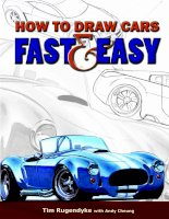 How to draw cars fast and easy